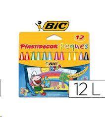 PLASTIDECOR.12 CERAS.PEQUES