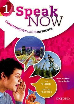 SPEAK NOW 1 STUDENT BOOK WITH INTERNET ACCESS CARD