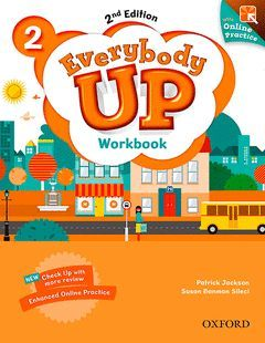 EVERYBODY UP 2 WORKBOOK WITH ONLINE PRACTICE (2ND EDITION)