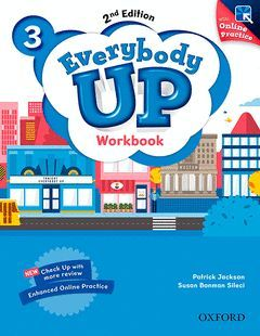 EVERYBODY UP 3 WORKBOOK WITH ONLINE PRACTICE (2ND EDITION)