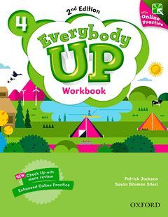 EVERYBODY UP 4 WORKBOOK WITH ONLINE PRACTICE (2ND EDITION)