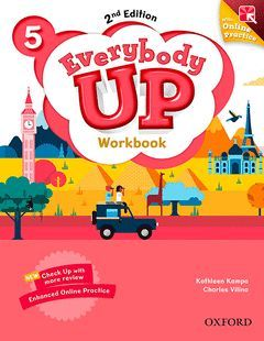 EVERYBODY UP 5 WORKBOOK WITH ONLINE PRACTICE (2ND EDITION)