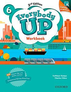 EVERYBODY UP (2ND EDITION) 6 WORKBOOK WITH ONLINE PRACTICE