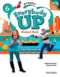 EVERYBODY UP (2ND EDITION) 6 STUDENT BOOK WITH CD