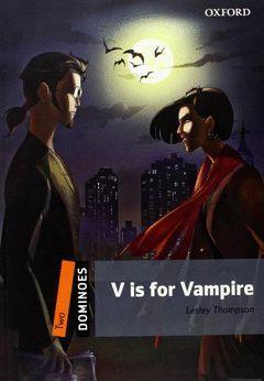 V IS FOR VAMPIRE WITH MULTI-ROM DOMINOES 2