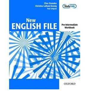 NEW ENGLISH FILE PRE INTERMEDIATE