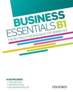 BUSINESS ESSENTIALS B1 STUDENT'S BOOK WITH DVD