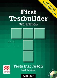 FIRST TESTBUILDER WITH KEY AND AUDIO CD (2) (REVISED FOR THE 2015 FCE EXAM)