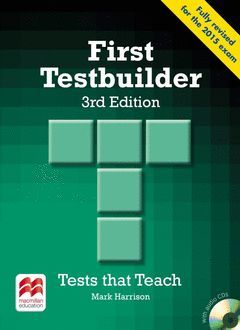 FIRST TESTBUILDER STUDENT'S BOOK WITHOUT ANSWERS AND WITH AUDIO CD