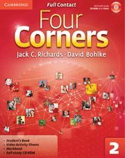 FOUR CORNERS LEVEL 2 FULL CONTACT WITH SELF-STUDY CD-ROM