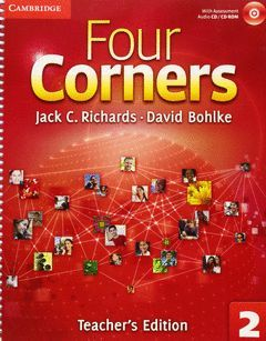FOUR CORNERS LEVEL 2 TEACHER'S EDITION WITH ASSESSMENT AUDIO CD/CD-ROM