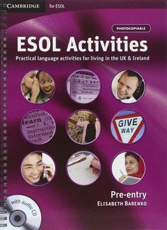 ESOL ACTIVITIES PRE-ENTRY BOOK + AUDIO CD