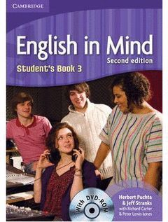 ENGLISH IN MIND LEVEL 3 STUDENT'S BOOK WITH DVD-ROM 2ND EDITION