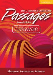 PASSAGES LEVEL 1 CLASSWARE 2ND EDITION