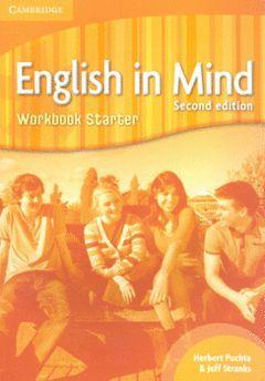ENGLISH IN MIND STARTER LEVEL WORKBOOK 2ND EDITION