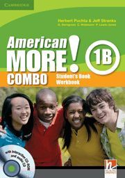 AMERICAN MORE! LEVEL 1 COMBO B WITH AUDIO CD/CD-ROM