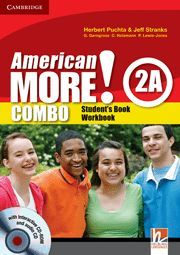 AMERICAN MORE! LEVEL 2 COMBO A WITH AUDIO CD/CD-ROM