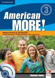 AMERICAN MORE! LEVEL 3 STUDENT'S BOOK WITH CD-ROM