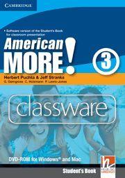 AMERICAN MORE! LEVEL 3 CLASSWARE DVD-ROM