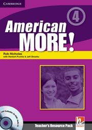 AMERICAN MORE! LEVEL 4 TEACHER'S RESOURCE PACK WITH TESTBUILDER CD-ROM/AUDIO CD