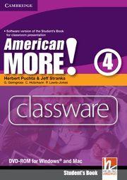 AMERICAN MORE! LEVEL 4 CLASSWARE DVD-ROM