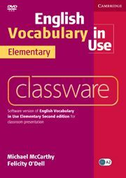 ENGLISH VOCABULARY IN USE ELEMENTARY CLASSWARE 2ND EDITION