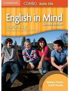 ENGLISH IN MIND STARTER A AND B COMBO AUDIO CDS (3) 2ND EDITION