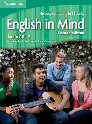 ENGLISH IN MIND LEVEL 2 AUDIO CDS (3) 2ND EDITION