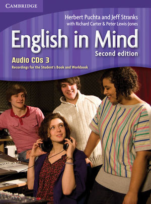 ENGLISH IN MIND LEVEL 3 AUDIO CDS (3) 2ND EDITION