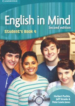 ENGLISH IN MIND LEVEL 4 STUDENT'S BOOK WITH DVD-ROM 2ND EDITION