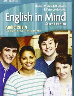 ENGLISH IN MIND LEVEL 4 AUDIO CDS (4) 2ND EDITION
