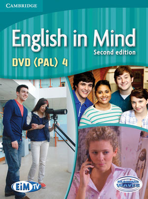 ENGLISH IN MIND LEVEL 4 DVD (PAL) 2ND EDITION