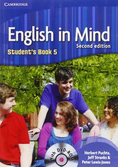 ENGLISH IN MIND LEVEL 5 STUDENT'S BOOK WITH DVD-ROM 2ND EDITION