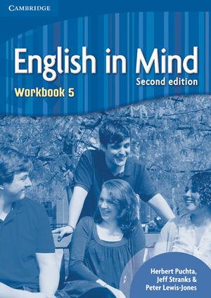 ENGLISH IN MIND LEVEL 5 WORKBOOK 2ND EDITION