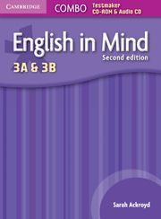 ENGLISH IN MIND LEVELS 3A AND 3B COMBO TESTMAKER CD-ROM AND AUDIO CD 2ND EDITION