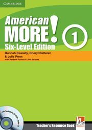 AMERICAN MORE! SIX-LEVEL EDITION LEVEL 1 TEACHER'S RESOURCE BOOK WITH TESTBUILDE