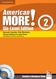 AMERICAN MORE! SIX-LEVEL EDITION LEVEL 2 TEACHER'S RESOURCE BOOK WITH TESTBUILDE