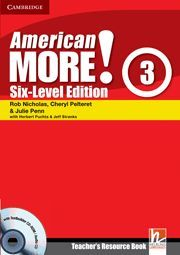 AMERICAN MORE! SIX-LEVEL EDITION LEVEL 3 TEACHER'S RESOURCE BOOK WITH TESTBUILDE
