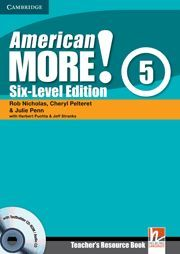 AMERICAN MORE! SIX-LEVEL EDITION LEVEL 5 TEACHER'S RESOURCE BOOK WITH TESTBUILDE
