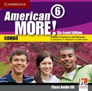 AMERICAN MORE! SIX-LEVEL EDITION LEVEL 6 CLASS AUDIO CD