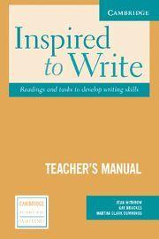 INSPIRED TO WRITE TEACHER'S MANUAL