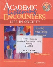 ACADEMIC ENCOUNTERS LIFE IN SOCIETY 2 BOOK SET (READING STUDENT'S BOOK AND LISTE