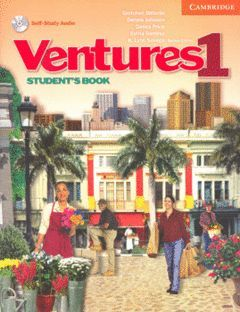 VENTURES 1 STUDENT'S BOOK WITH AUDIO CD