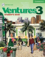 VENTURES 3 STUDENT'S BOOK WITH AUDIO CD