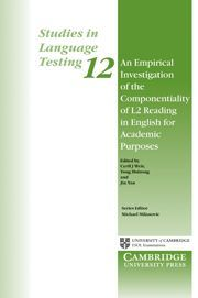 AN EMPIRICAL INVESTIGATION OF THE COMPONENTIALITY OF L2 READING IN ENGLISH FOR A