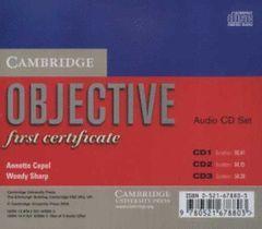 OBJETIVE FIRST CERTIFICATE AUDIO CD