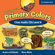 AMERICAN ENGLISH PRIMARY COLORS 6 CLASS AUDIO CDS