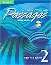 PASSAGES TEACHER'S EDITION 1 WITH AUDIO CD 2ND EDITION