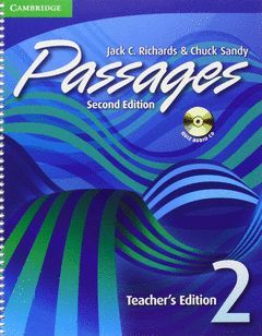 PASSAGES LEVEL 2 TEACHER'S EDITION WITH AUDIO CD 2ND EDITION