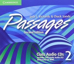 PASSAGES CLASS AUDIO CDS 2ND EDITION